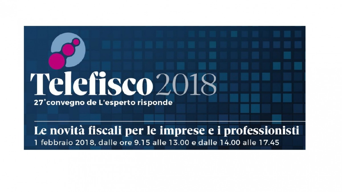 dispensa telefisco 2018